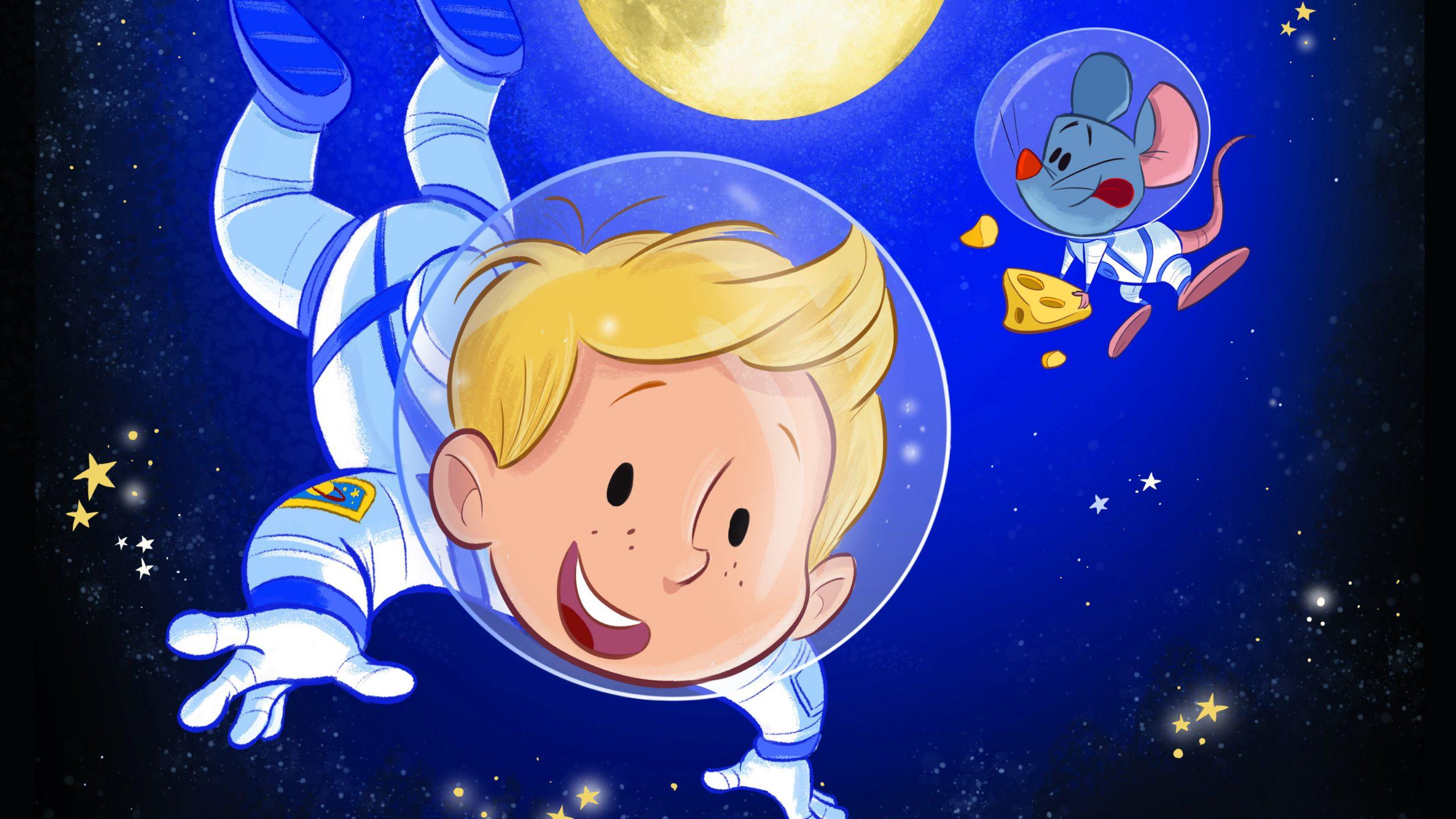 Het Astronautje (4+)