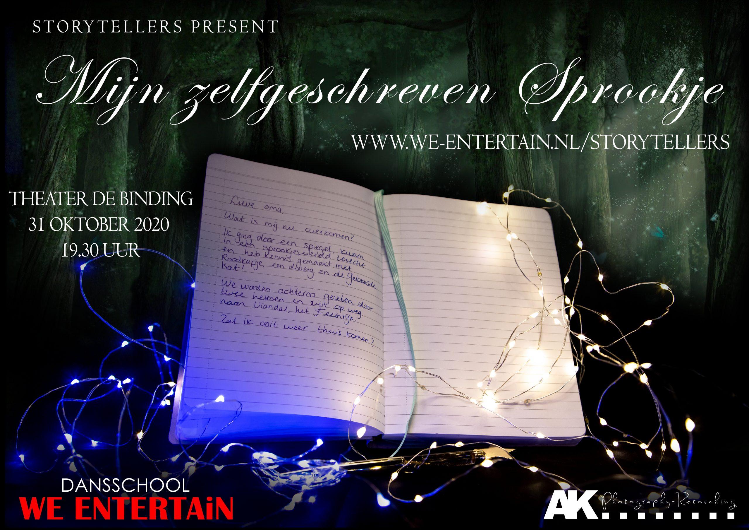 We Entertain – Storytellers 'Mijn Zelfgeschreven Sprookje'